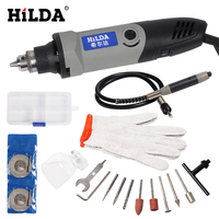 HILDA150W 180W 400W Electric Mini Grinder With Accessories Tool Set For Clean Seam Taper Seam