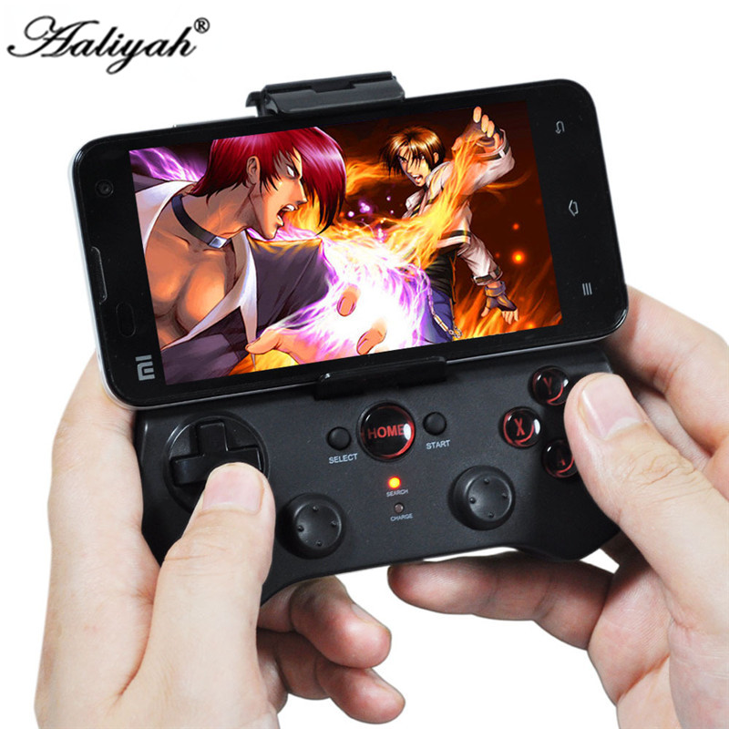 Aaliyah 9017S Wireless Game Controller Bluetooth Game Console Vedio Game Player Joystick iPhone 5 6 IOS Samsung Android стоимость