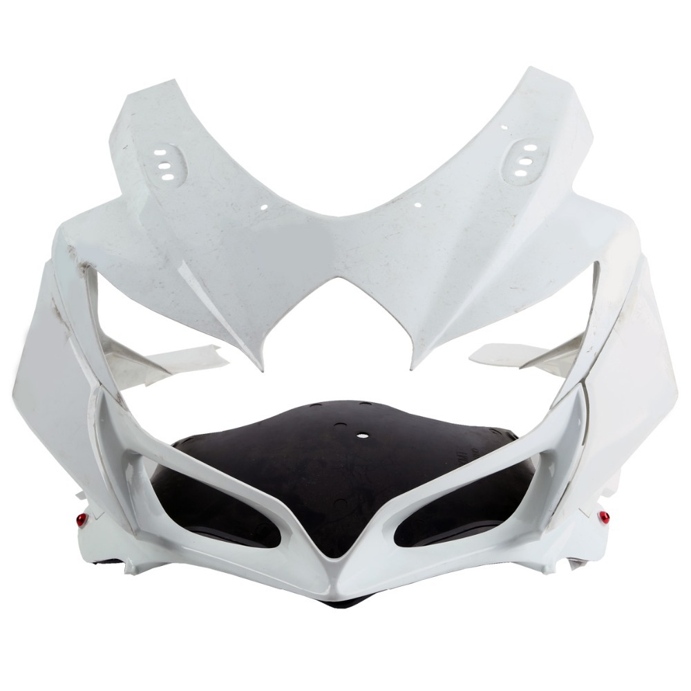 Неокрашенный передняя Обтекателя Клобук нос для Suzuki GSXR600 GSXR750 2008-2010 09