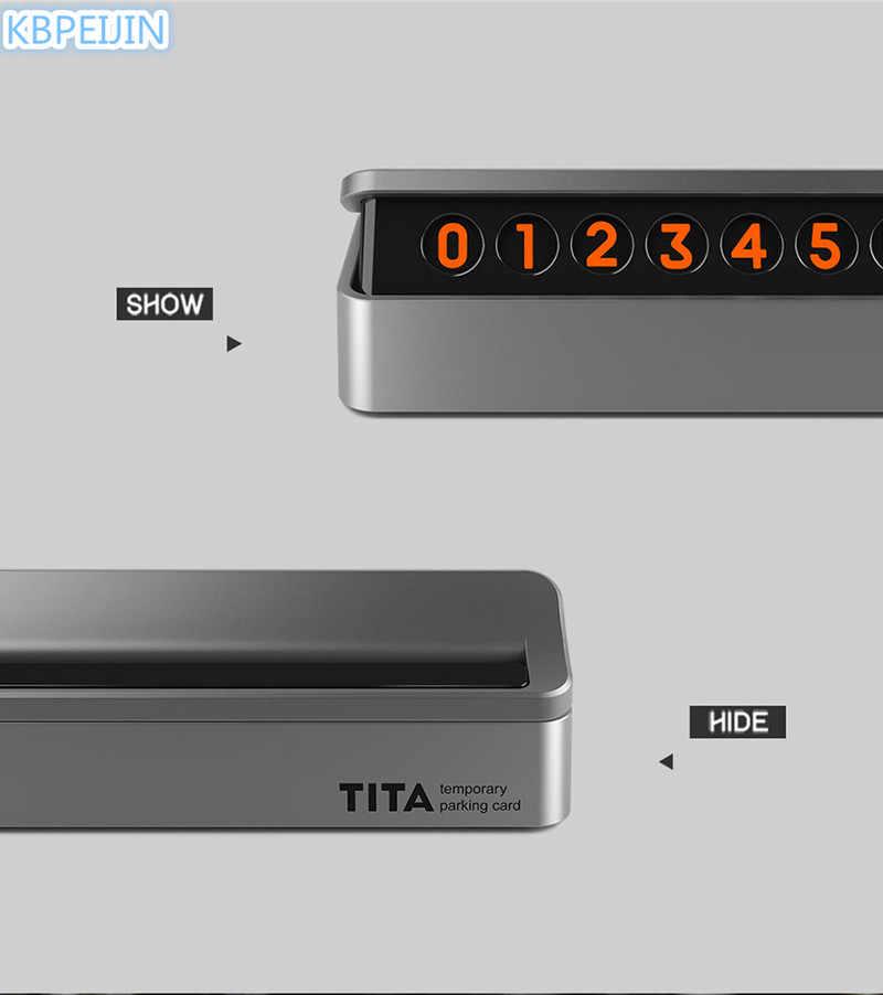 Высококлассные ящик стиль легко разобрать автомобиля временная парковка карты для Lexus rx350 rx gs is250 gs300 rx300 nx rx330 аксессуары