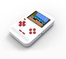 Mini fc nostálgico crianças máquina de jogo tetris máquina de jogo embutido 300 handheld game console psp handheld