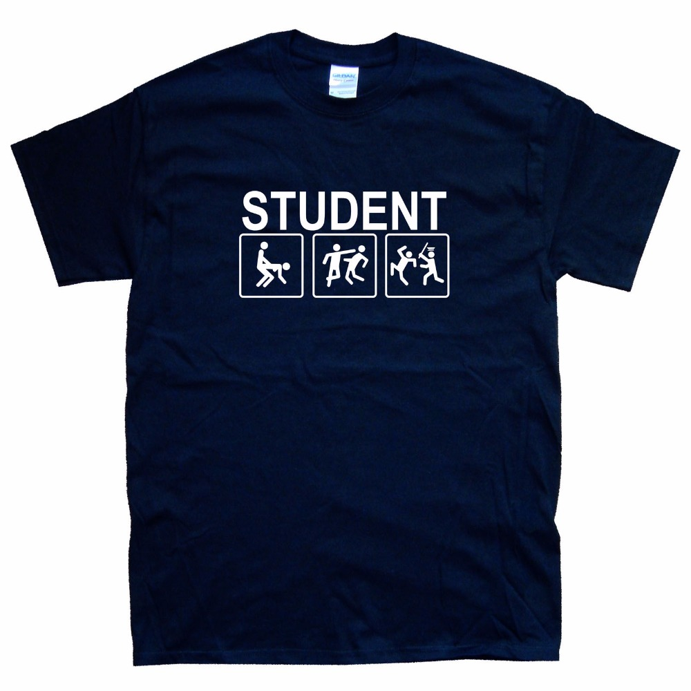 Design t shirt online - Hot Selling Top Awesome Tee Shirts Life Of A Student New Design Cheap T Shirts Online
