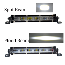 ECAHAYAKU 7 inch Offroad 30w LED Light Bar Combo Work Light 12V 24V 6D led light for Driving light Boat Car Truck 4x4 SUV ATV 10 3 row 108w cree chips car led light bar 6d combo beam offroad led work light for atv suv truck pickup 4x4 boat 12v 24v
