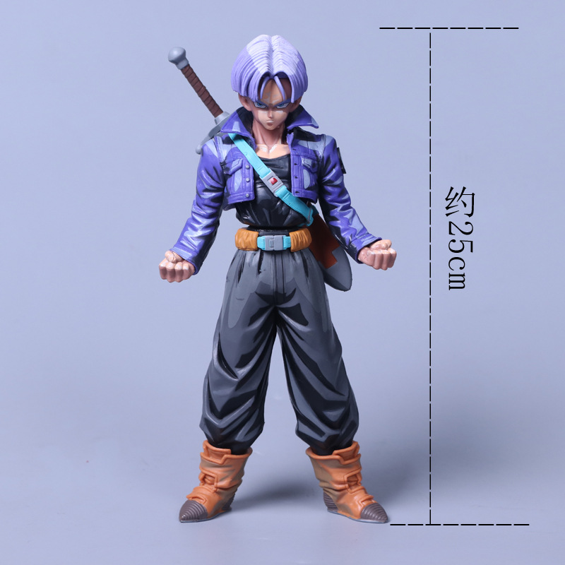 FMRXK 25cm Dragon Ball Z MSP The Trunks Action Figure Resolution Of Soldiers PVC Collection Toys