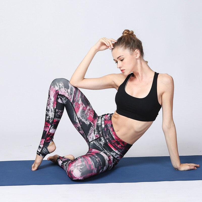 Qadın Yoga Şalvar Ayaqaltı İdman Kolları İdman Geyimi İdman - İdman geyimləri və aksesuarları - Fotoqrafiya 4