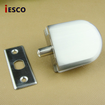 85mm central distance door handle lock with 70mm key lock Zinc alloy glass glass door bolt lock central door lock door lock button with glass door