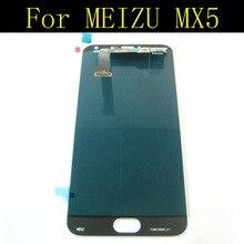 Dla meizu mx5 wyświetlacz lcd + ekran dotykowy + narzędzia fhd wysoka jakość wymiana digitizer montażowe dla meizu mx 5 telefon komórkowy