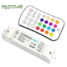 New LTECH M6+M3-3A Led RGB strip Controller 12V 24V 3Ax3CH 9A RGB Led RF Wireless Touch Panel 5050 3528 RGB Led Strip Controller
