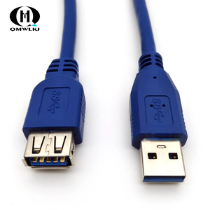 Image 4 - Usb3.0 Extension Cord Male To Female All Inclusive 0.3m 0.8m 1m 1.5m 5 meters data cable External Hard Drive Disk Wire Adapter