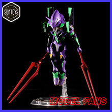 MODEL FANS INSTOCK suntoys 14cm eva 01 SD VERSION eyes can assembly action figure(China)