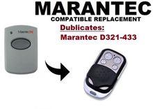 copy Marantec D321  Garage Door/Gate Remote Control Replacement/Duplicator Remote Control Key Fob 433.92mhz fixed code все цены