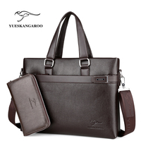 YUES KANGAROO New Arrived Brand Men Bag Fashion Men Messenger Bag Business Bag Travel Totes Laptop