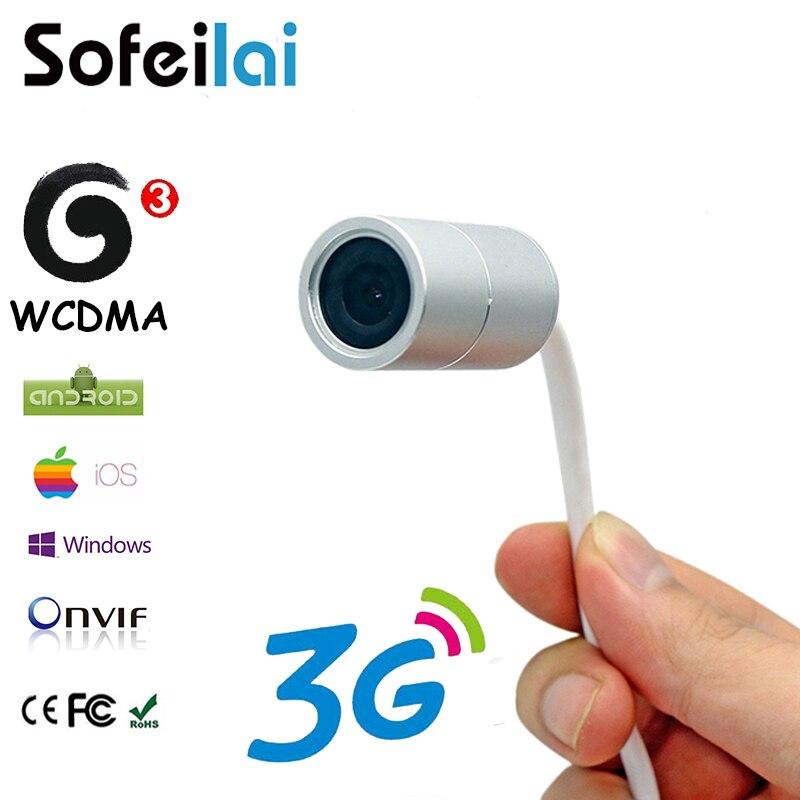 3G sim card wireless micro telecamera ip mini casa motion detect WCDMA onvif sicurezza CCTV P2P telecamere micro sd card slot phone app