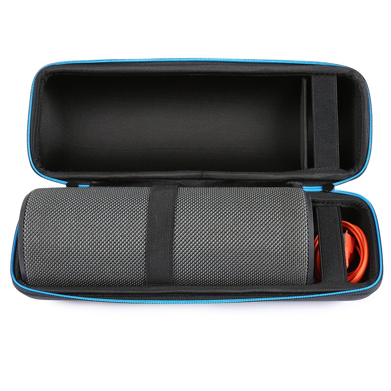 Hard EVA Case Travel Carrying Bag For Ultimate Ears UE MegaBOOM Bluetooth Speaker Fits USB Cable And Wall Charger