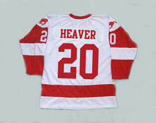 Hockey Jersey Custom 20 Keanu Reeves Heaver Men Stitched Movie Throwback Hoceky Jersey S-3XL Free Shipping Viva Villa(China)