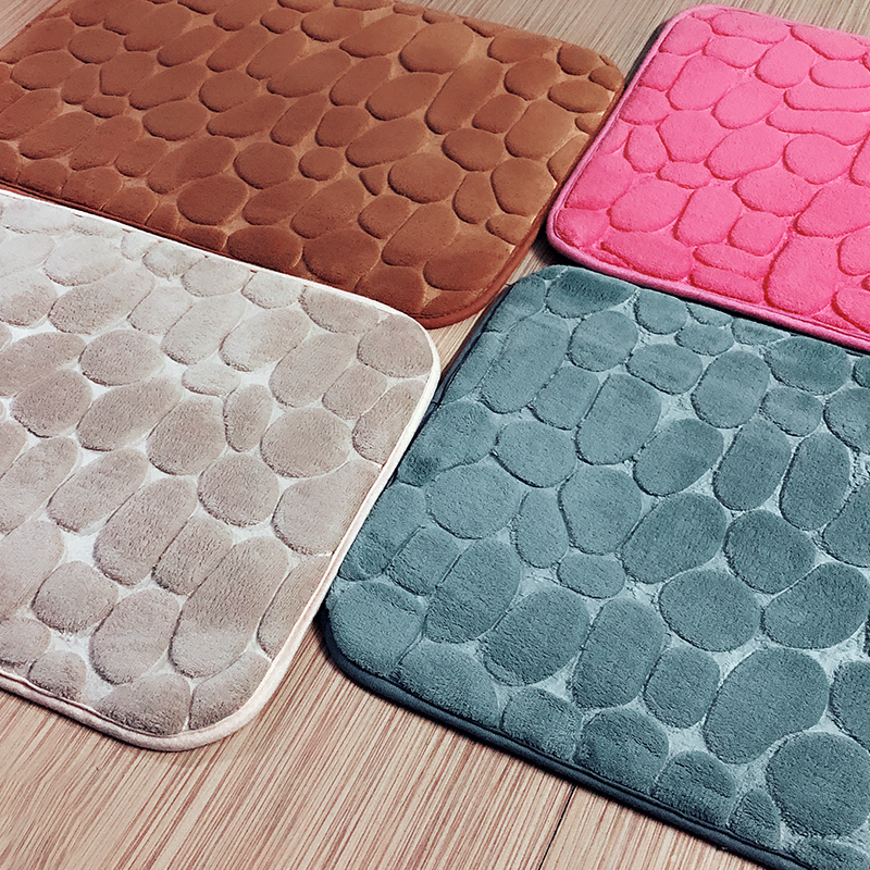 [Multiple sizes] VOZRO Bath mat memory carpet rugs toilet funny bathtub Room living room door stairs bathroom foot floor mats