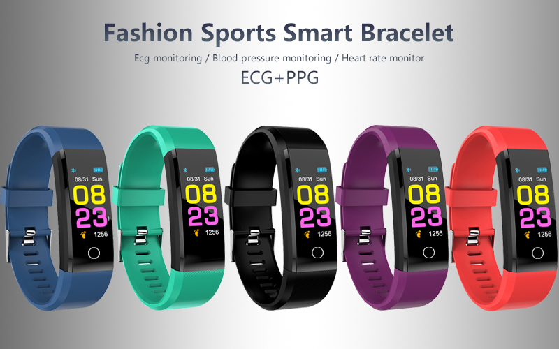Smart watch man, woman. Heart rate Monitor blood pressure Fitness Tracker sports watch Smartwatch for ios Colors