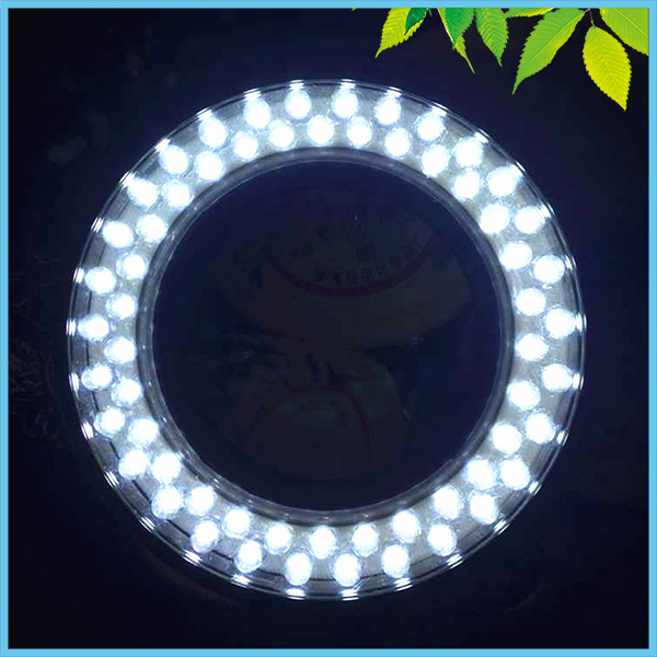 Brightness Adjustable 60 PCS LED Ring Light Microscope Ring Lamp with Adapter 110V or 220V for Stereo Microscope Illumination  цены