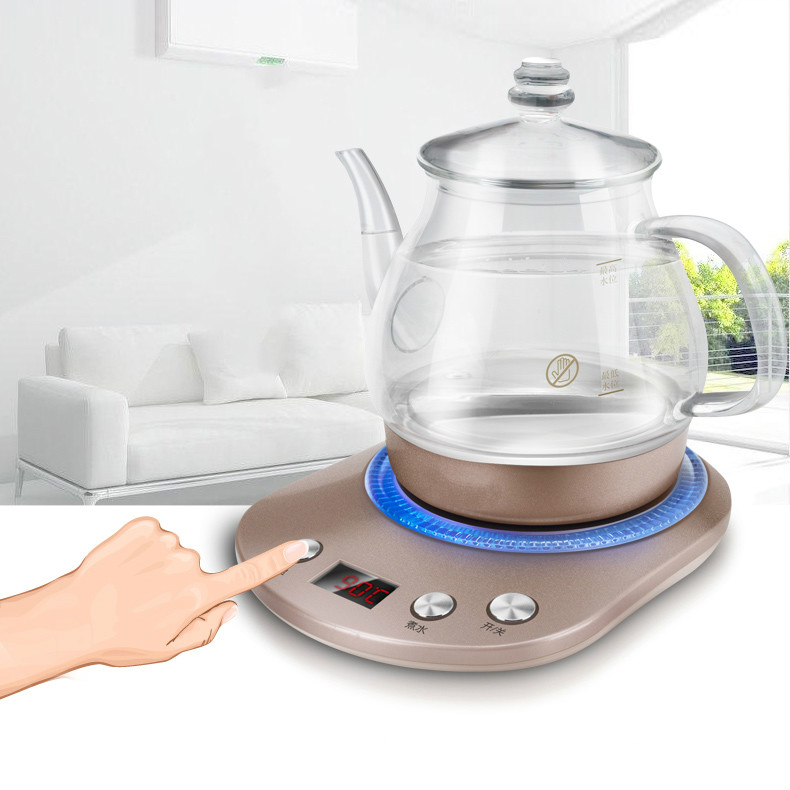 Electric kettle  electric has  multi-function automatic power failure glass boiler Overheat ProtectionElectric kettle  electric has  multi-function automatic power failure glass boiler Overheat Protection