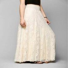 6710409f3e9a White Lace Maxi Skirt Werbeaktion-Shop für Werbeaktion White Lace ...