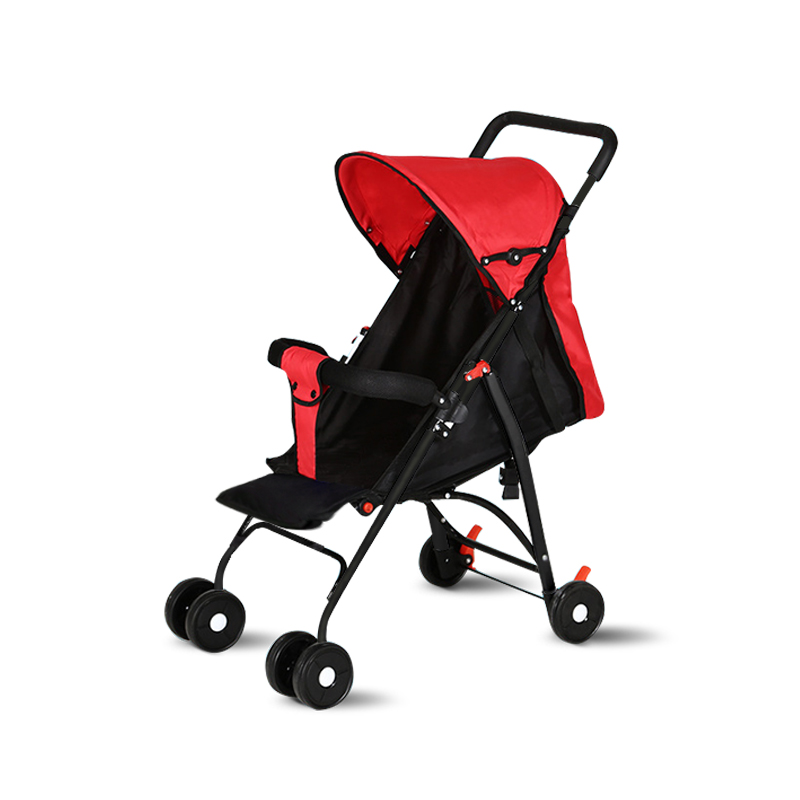 Summer And Winter Baby Strollers Ultra-Lightweight Folding Can Sit Can Lie High Landscape Umbrella Baby Stroller