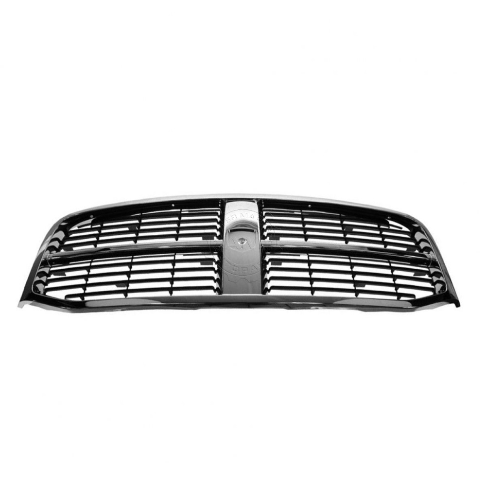 XYIVYG Front End Grille Grill Chrome & Black NEW for Dodge Ram Pickup Truck