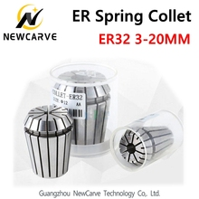 ER32 Spring Collet Set From 3mm To 20mm 0.01MM ER Chuck Precision for CNC Spindle Motor NEWCARVE