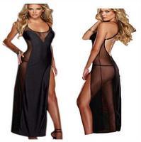 גודל גדול M-4XL אירופה ובארצות הברית קלטת הלטר חצאית נקודת מבט סקסית תחתונים סקסיים high-end כיף שחור חצאית הלילה