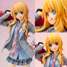 NEW hot 20cm Your Lie in April Miyazono Kaori collectors action figure toys Christmas gift toy