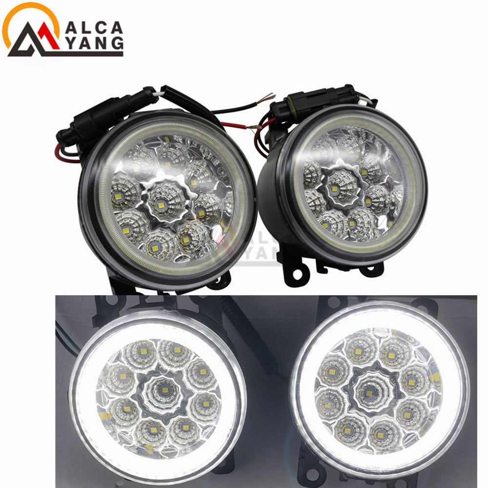 For Nissan Navara Note Pathfinder Pixo Armada Interstar 02-13 Car Styling Daytime Running Light DRL Refit Fog Lights Angel Eye 5b front highway road wheel set ts h95086 x 2pcs for 1 5 baja 5b wholesale and retail page 6