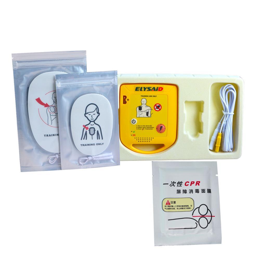 Mini AED formateur XFT trousse de formation de premiers soins Machine de formation d'étude de pratique en anglais + 1 écran facial de rcr-in Trousses De Toilette from Beauté & Santé    1