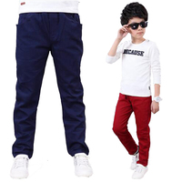 Kids Casual Pants Children Boys Long Style Trousers For Spring Autumn 2016 New Kids Babys Cotton