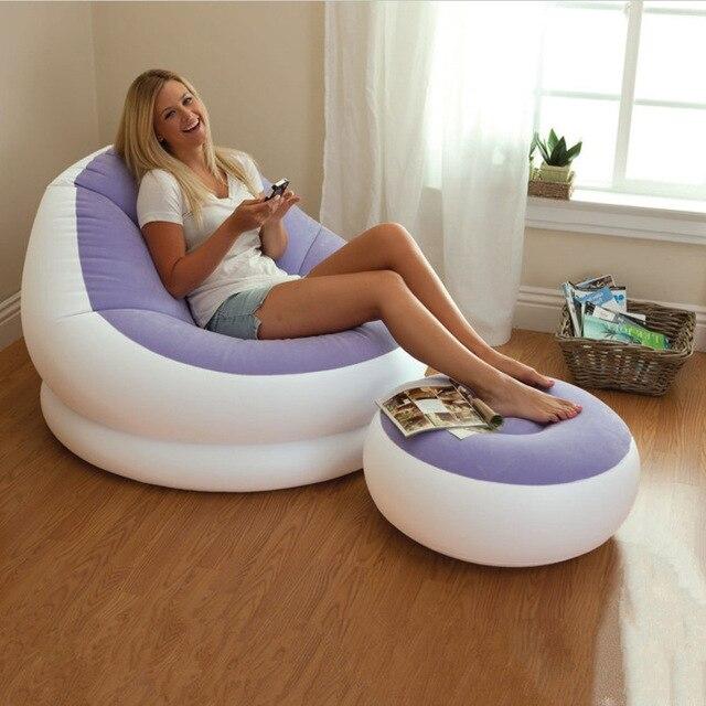 beach portable outdoor furniture air bed inflatable hammock sleeping bag camping sofa nylon polyester lazy inflatable outdoor furniture r36 furniture