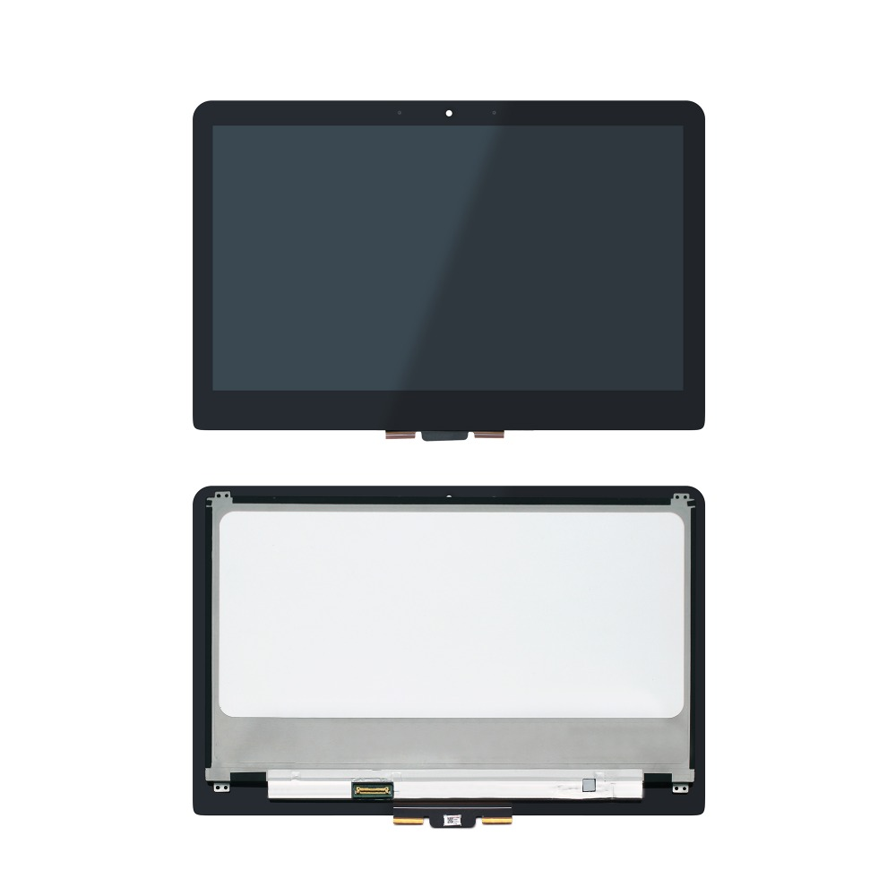 13.3'' Touch LCD Screen Assembly Replacement For HP Spectre x360 13-4103nf 13-4163nf 13-4175ng 13-4132ng free shipping 13 3 2560x1440 touch replacement screen for hp spectre xt 13t 3000 13t 3010