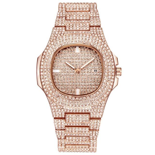 Ladies Quartz, Stainless Steel Timepiece