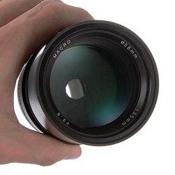 135 мм F2.8 Полнокадровый объектив с ручной фиксированной фокусировкой для камер Canon EOS 350D 1300D 6D 6DII 7DII 70D 80D 5DII III