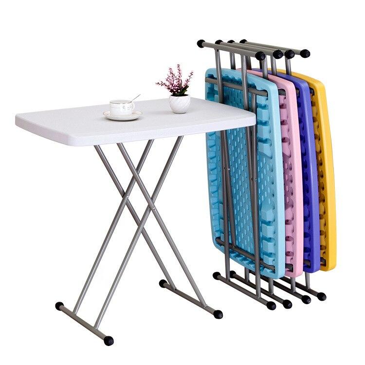 15%, красочный компьютерный стол, простой складной стол, регулируемый по высоте, обеденный стол для учебы, столик для ноутбука, подставка, под...