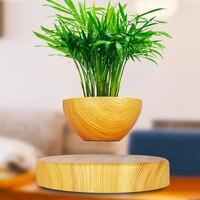 Levitating Air Bonsai Pot Magnetic Levitation Suspension Flower Floating Pot Potted Plant for Home Office Decor