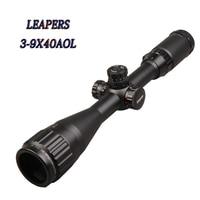 HOT LEAPERS 3 9X40 Riflescope Mil Dot Richtkruis Optische Zicht Jacht Richtkijker Tactical Optics Airsoft Air Guns Scopes