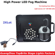 2XLot Fast Shipping 1500W DMX LED Fog Machine Pyro Vertical Smoke Machine/Professional Fogger For Stage Lighting Equipments(China)