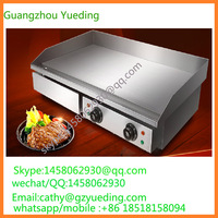 Kitchen Equipments Range Cooking Stainless Steel Commercial Electric Griddle
