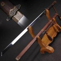 Chinese Tang Dynasty Sword Straight Blade Sword 1060 High Carbon Steel Japanese Samurai Sword Katana