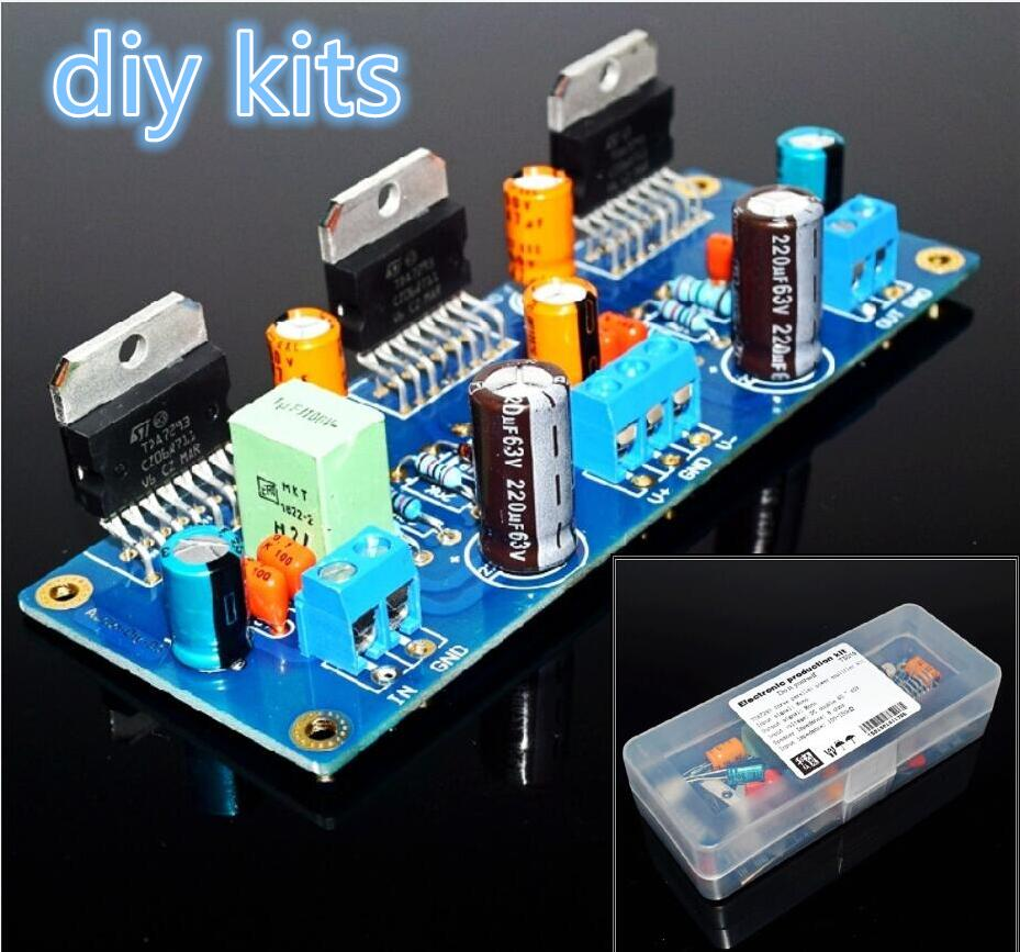 1pc Irs2092 Class D Audio Power Amplifier Amp Kit 200w Mono Circuit Btl Pcb Tda8920 High Efficiency Tda7293 300w Board Three Parallel Diy Kits