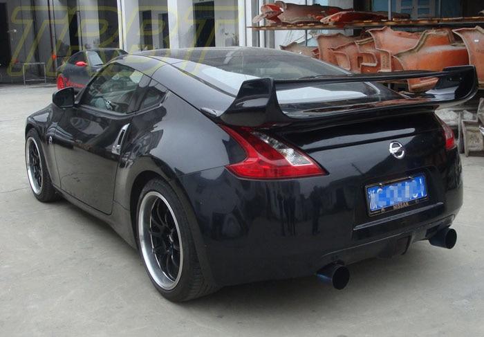 US $549 0 |370Z Carbon Fiber Spoiler Fairlady Z34 CF Big Wing Trunk Rear  Spoiler Case For Nissan 2009 2010 2011 2012 2013 2014 2015 2016 -in  Spoilers