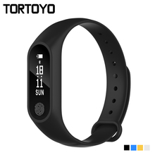 M2 Plus Smart Wristband Heart Rate Monitor Smartband SportsSmart Band Push Message Notification for iPhone Android PK Mi band 2