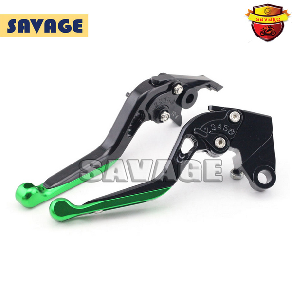 For KAWASAKI ER-6N/F NINJA 650R Versys 650 09-15, NINJA 400R 11-13 Extending Brake Clutch Levers extendable CNC Aluminum стоимость