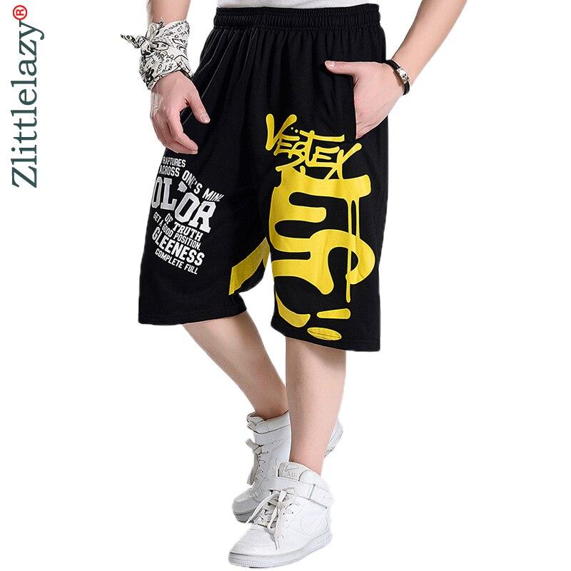 2019 verão da marca de moda hip hop plus size casual masculino homens basculador roupas exercício shorts homens bermuda masculina homme A227
