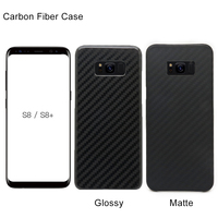 2017 New Arrival For Galaxy S8 Plus 100 Real Carbon Fiber Case For Samsung Galaxy S8