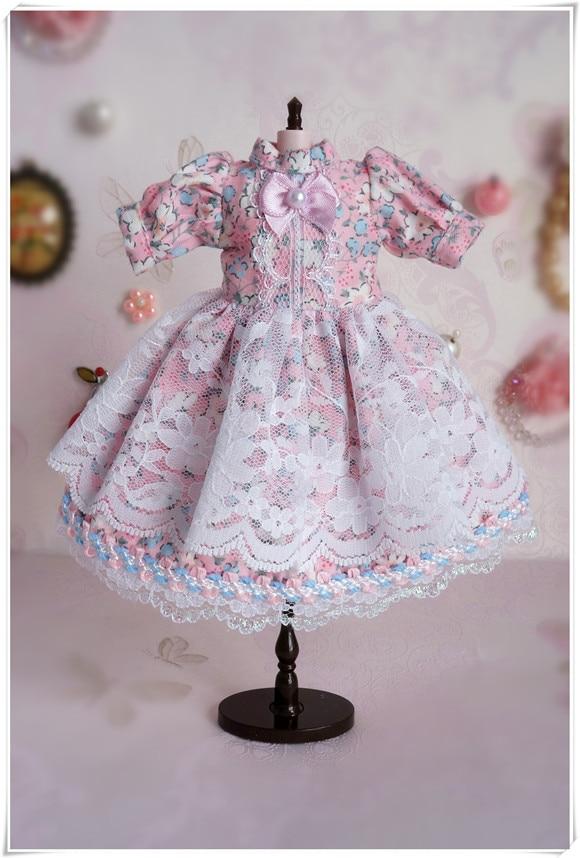 New Design Blyth Flower Dress BJD Dress Doll Outfit Doll Clothes (Fit Blyth,azone,BJD,pullip,Lati,ob,Dal,JerryB,1/6doll)
