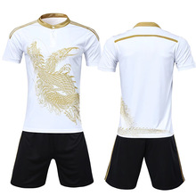 a17175404 Chinese dragon football Jersey short-sleeved football uniform men s Soccer  training suit Blank Soccer Jersey